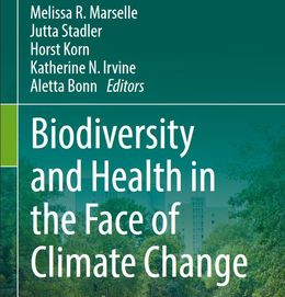 "Cover des Buches ""Biodiversity and health..."""